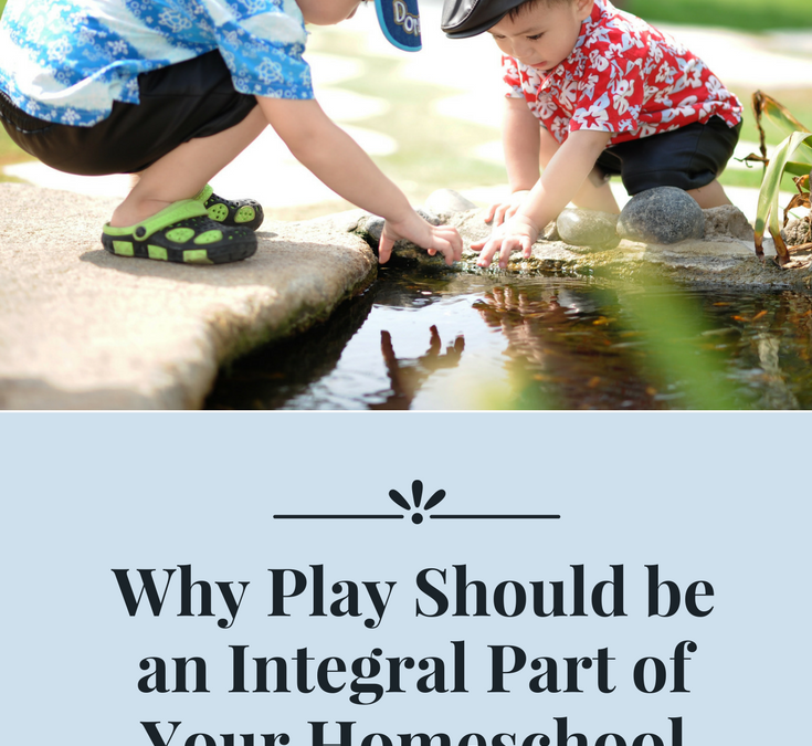 Why Play Should be an Integral Part of Your Homeschool