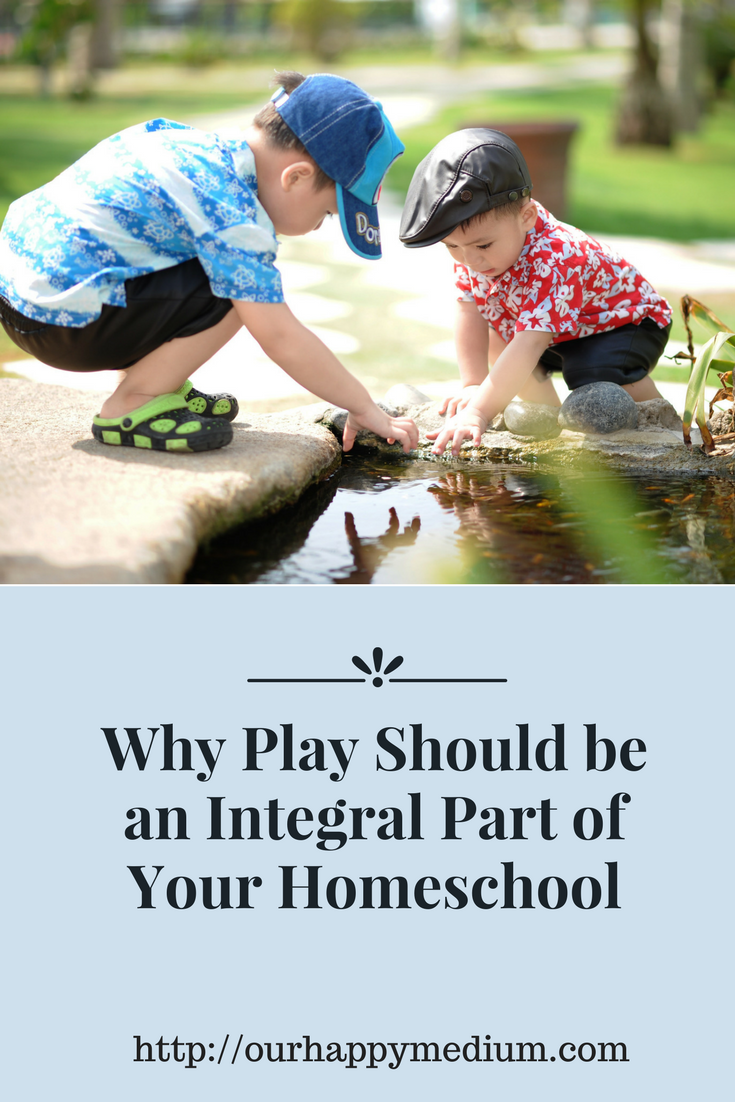 Why Play should be part of your homeschool curriculum