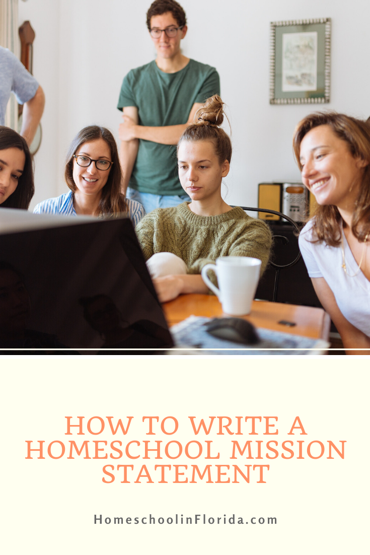 how to write a homeshool mission statement