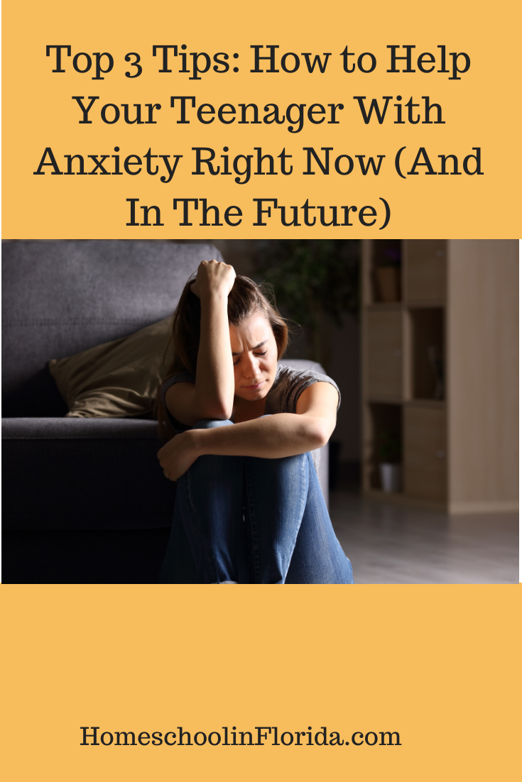 how to help your teenager with anxiety