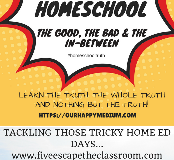 Top Ten Tips for Tackling Those Tricky Home Ed Days