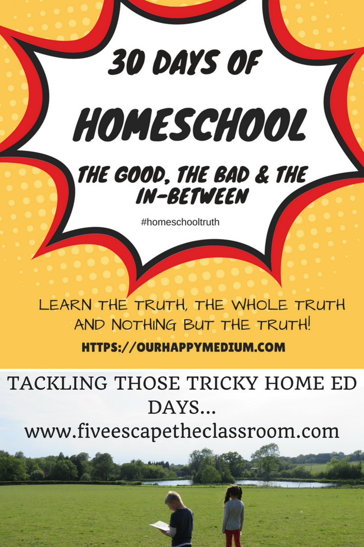 Top Ten Tips for Tacking Those Tricky Home Ed Days