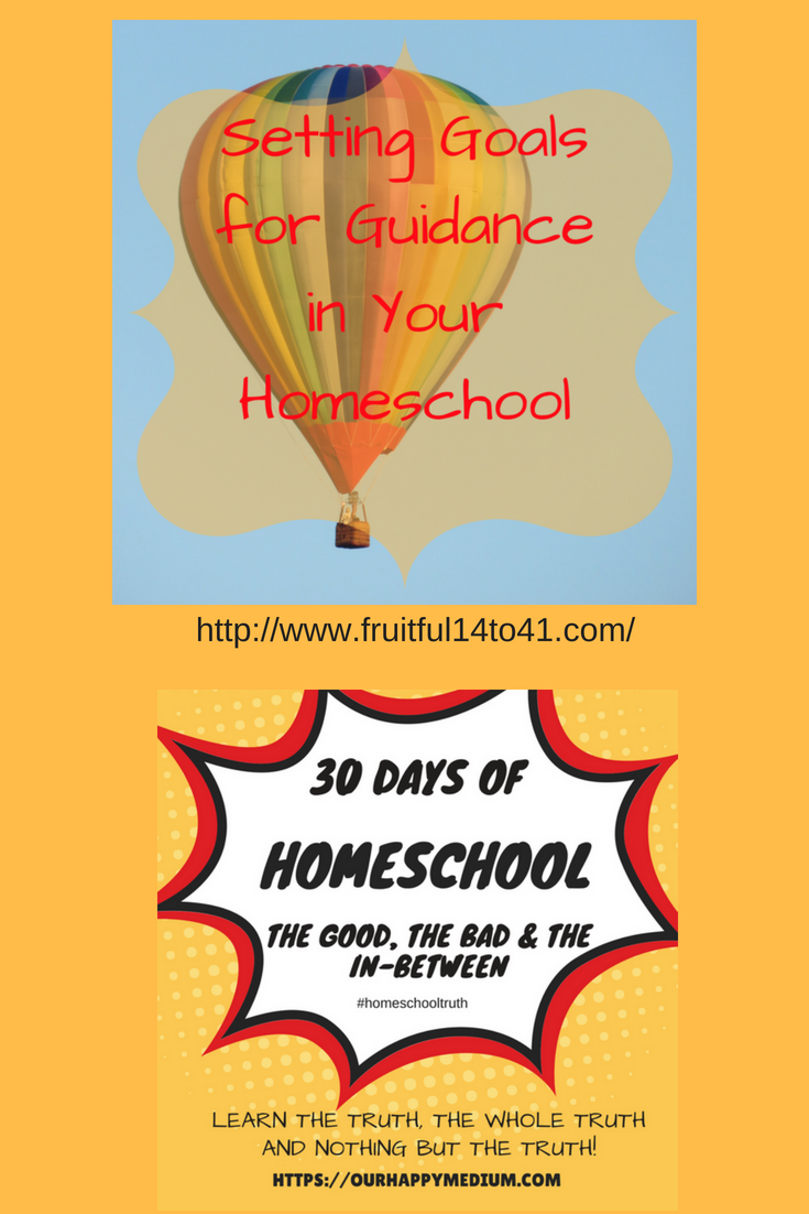 How to set goals for your homeschool