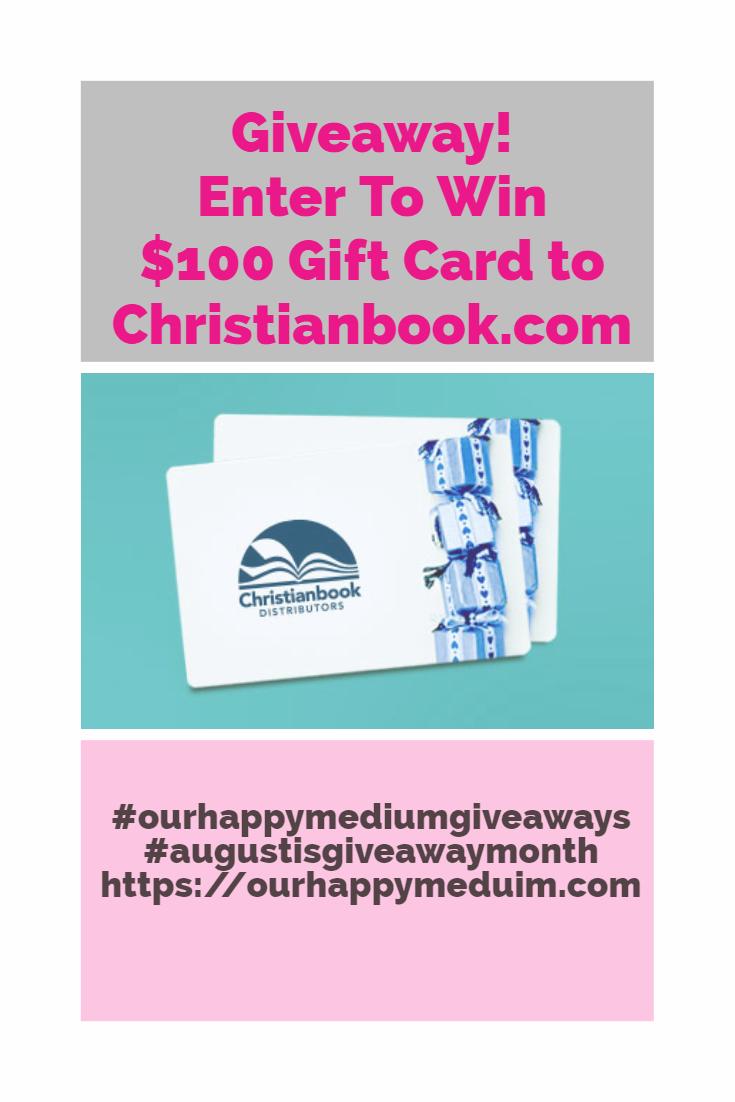 homeschool giveaway christianbook.com