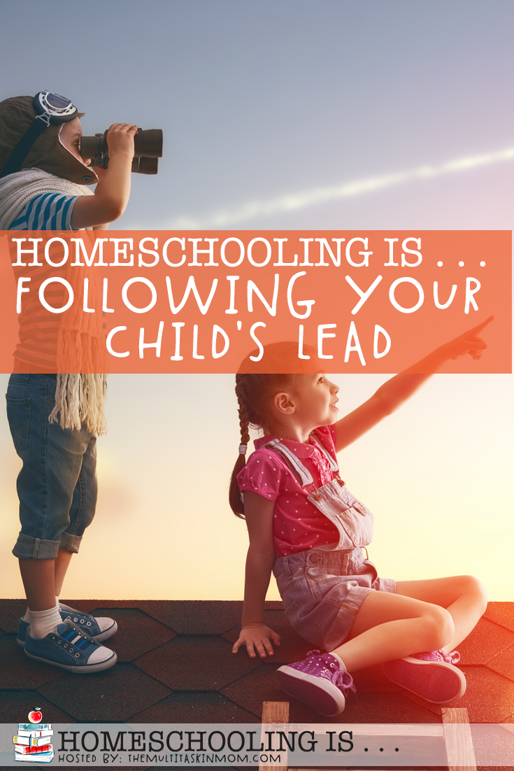 following your child's lead in homeschooling