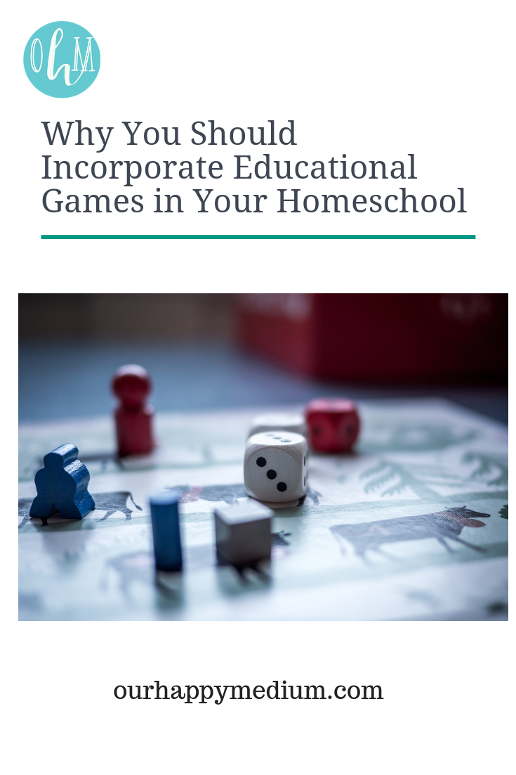 why you should incorporate educational games in your homeschool