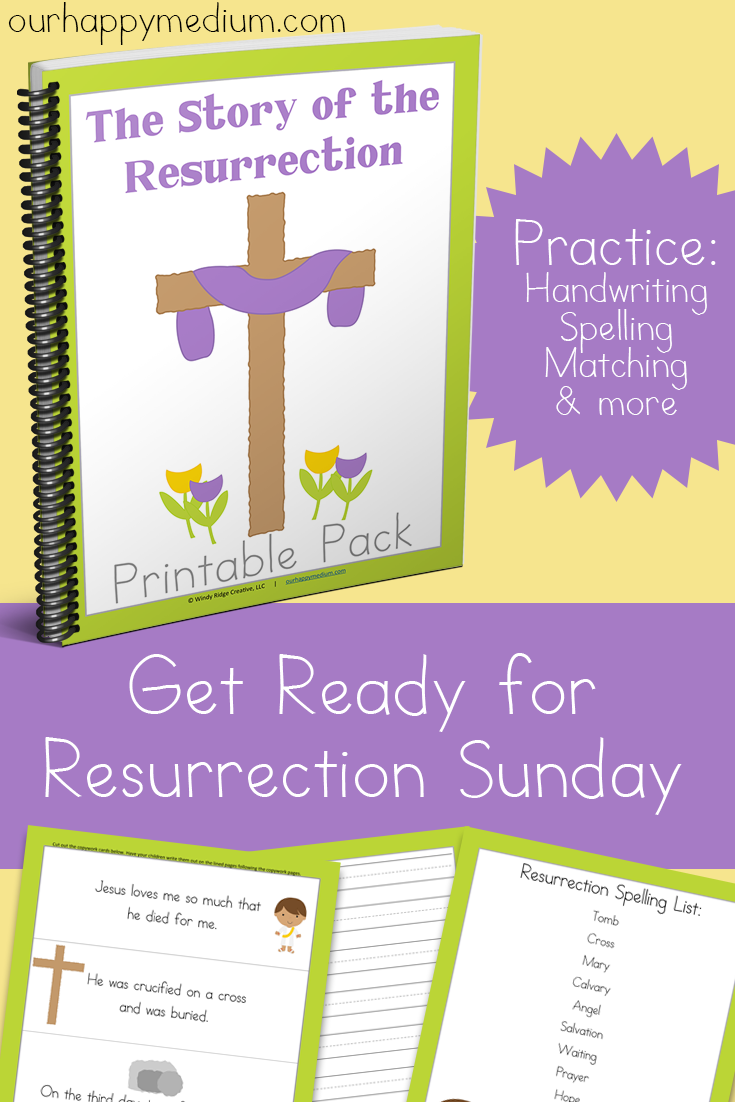 The Story of the Resurrection Printable Pack for Homeschoolers