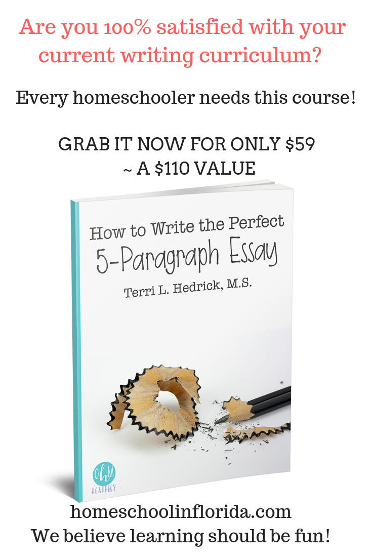 how to write the perfect 5-paragraph essay