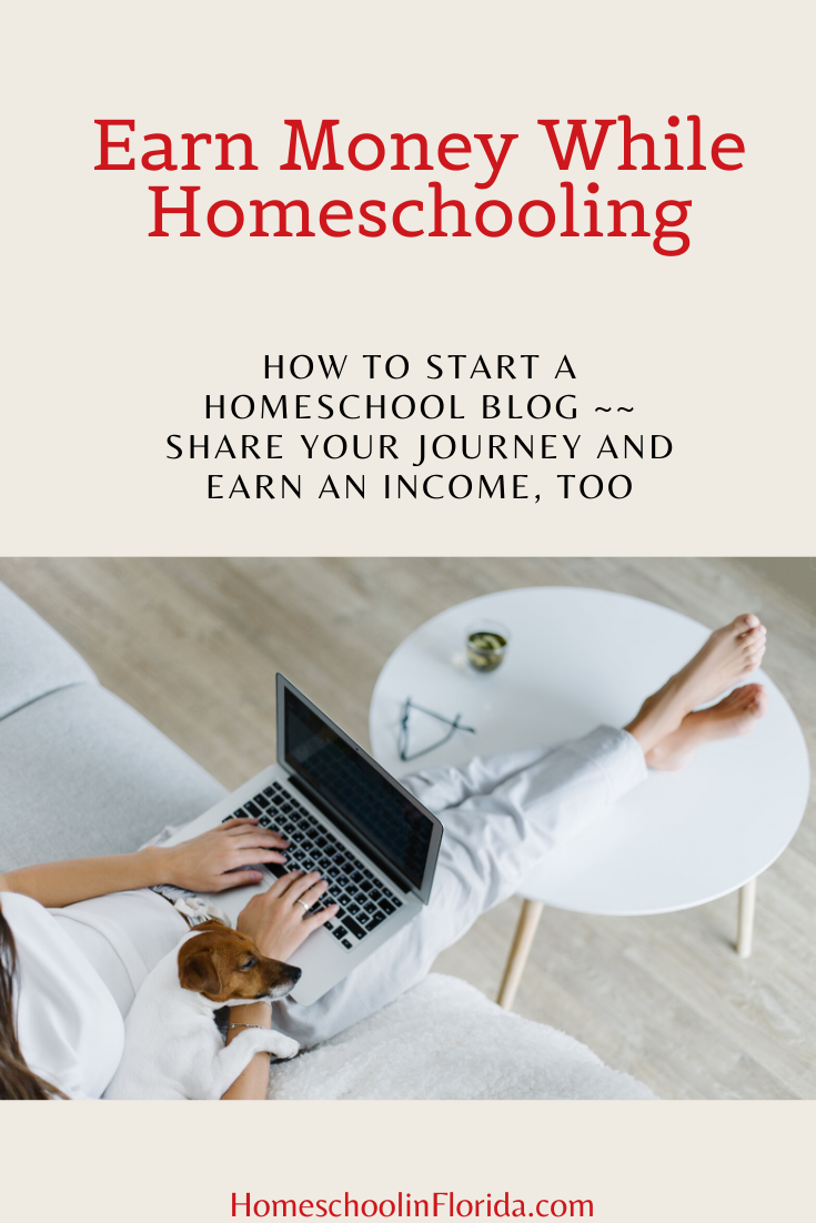 earn money while homeschooling