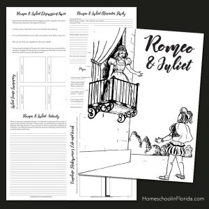 Romeo & Juliet Printable Unit Study
