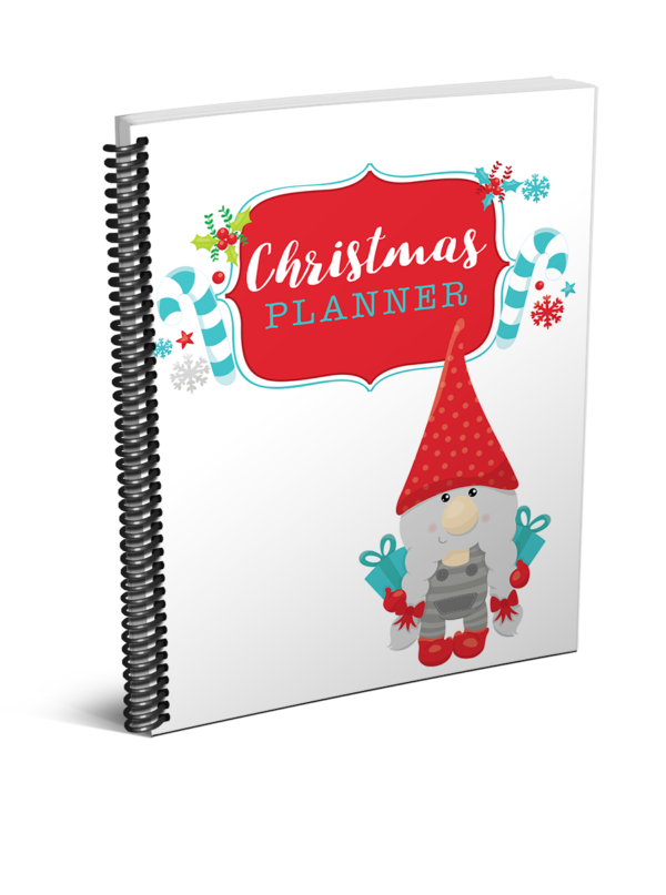 Christmas planner Our Happy Medium